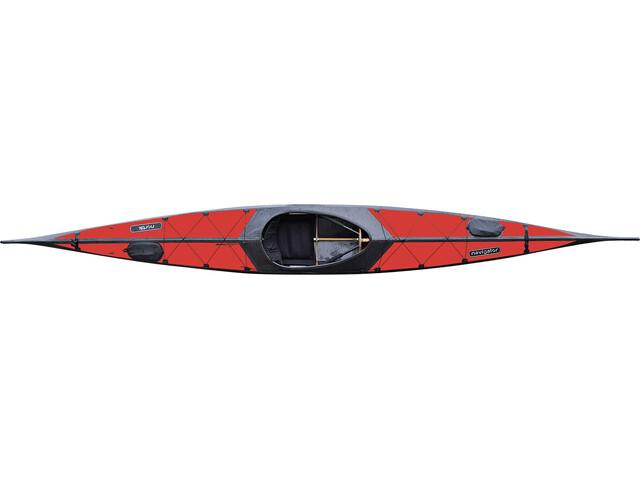 nortik Navigator Kayak rot/schwarz